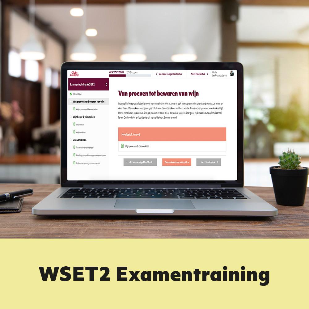 wset2 exampentraining