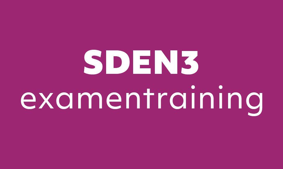 examentraining sden3